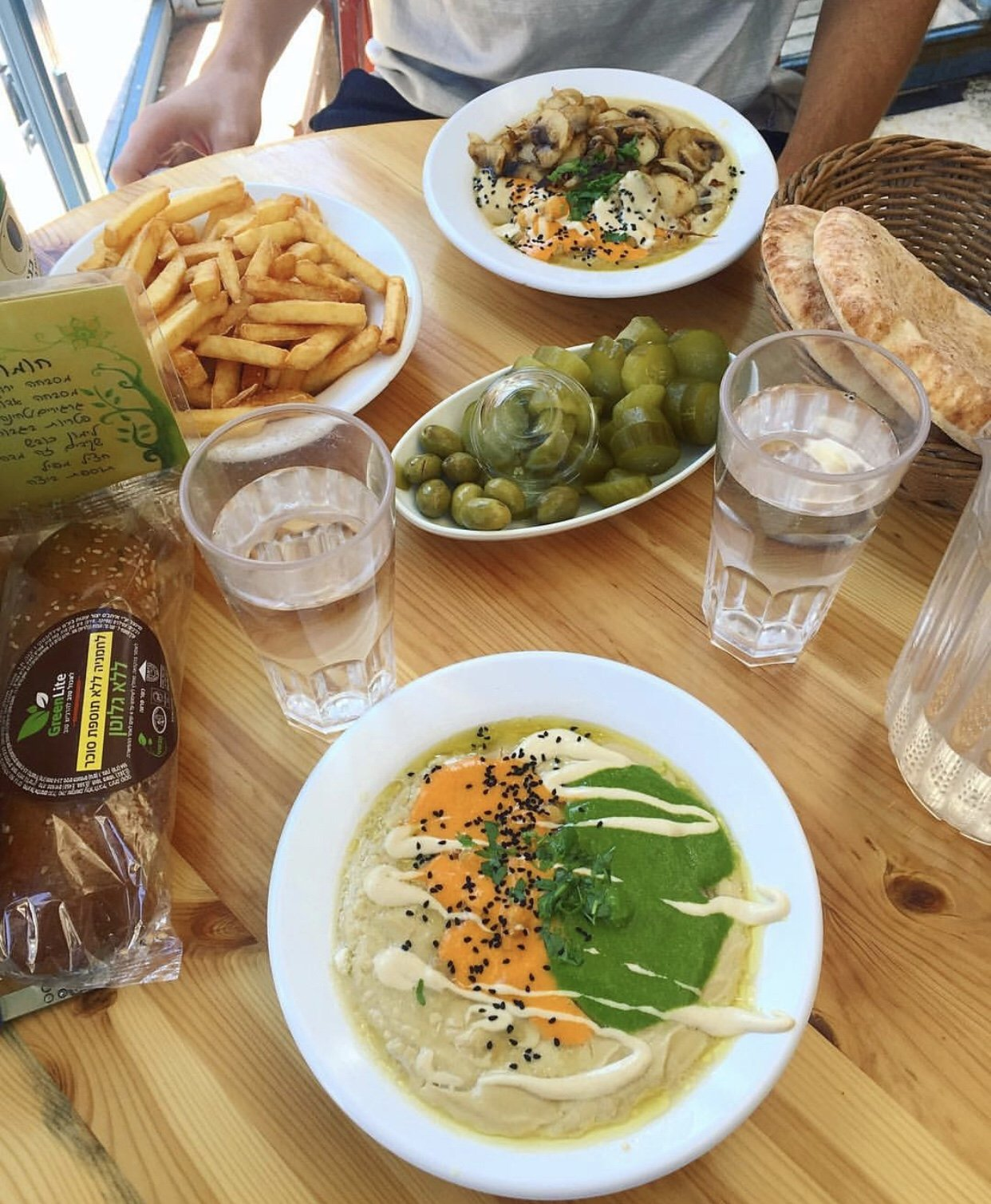 5 Yummy Gluten Free Vegetarian Eats in Jerusalem's City Center
