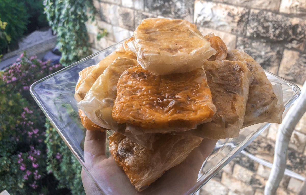 Rice Paper Bourekas
