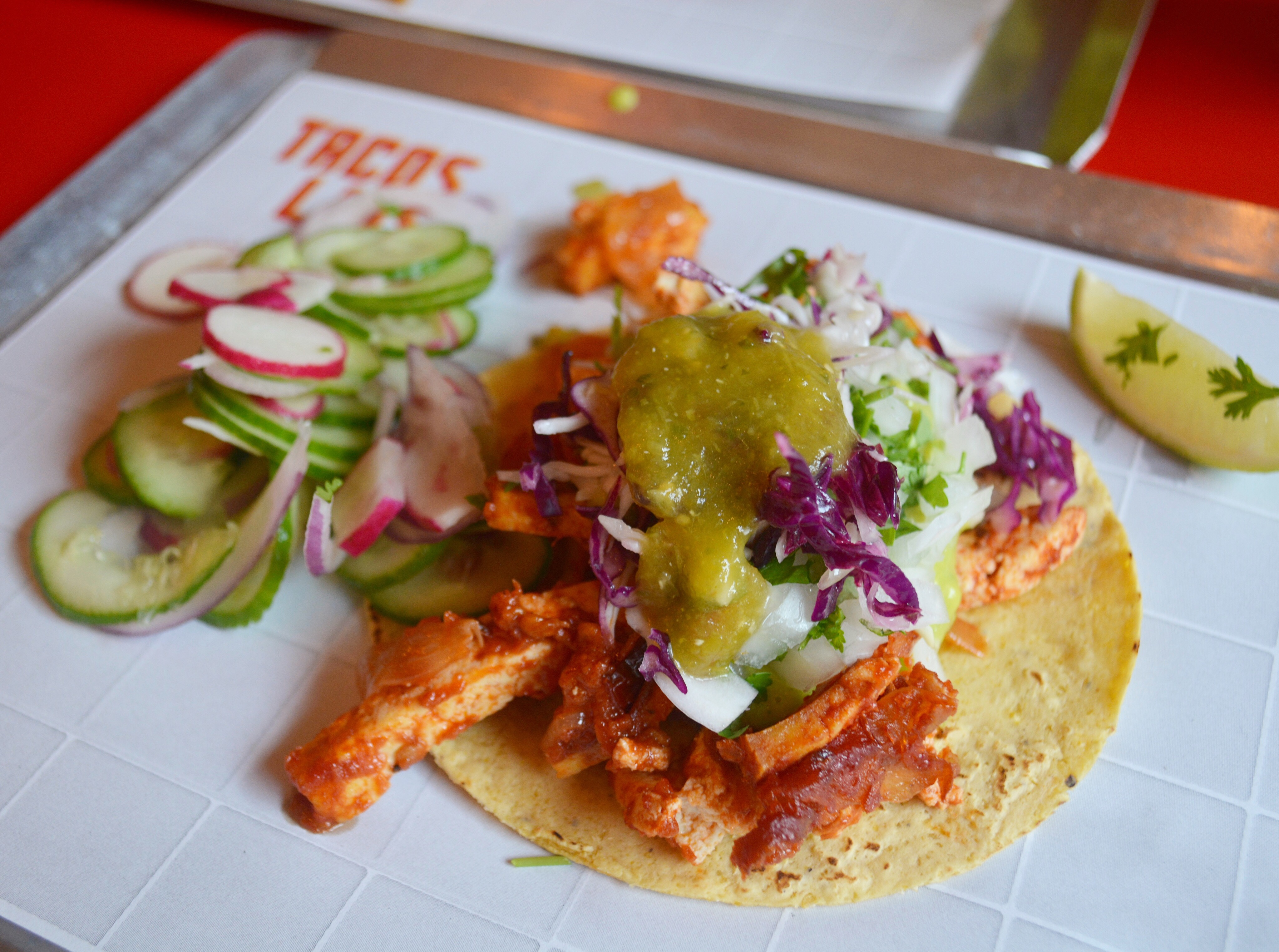 Vegetarian Tacos from Taco's Luis