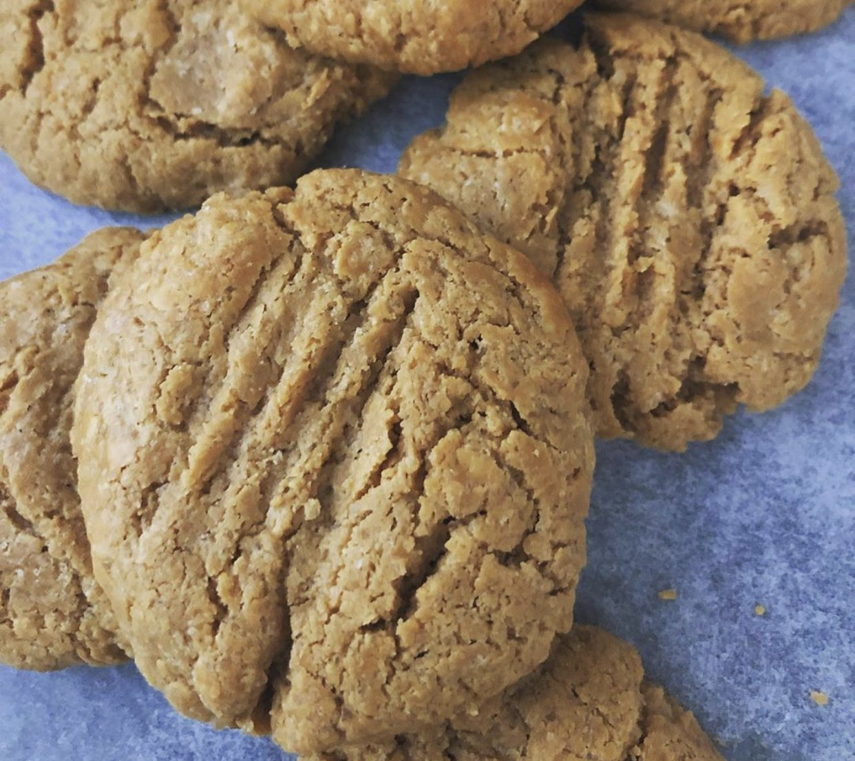 Classic 3 Ingredient Peanut Butter Cookies